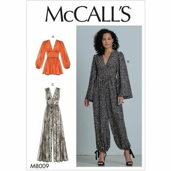 McCalls pattern M8009