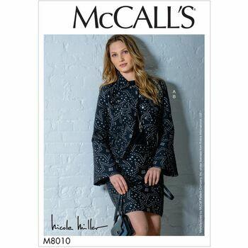 McCalls pattern M8010