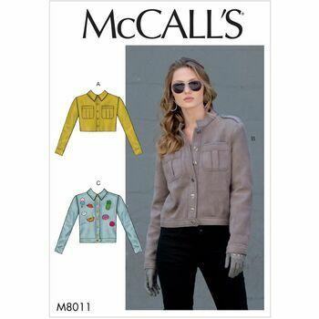 McCalls pattern M8011