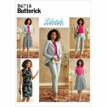 Butterick pattern B6718