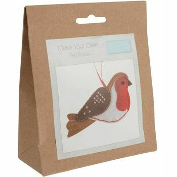 Trimits Felt Decoration Sewing Kit: Robin