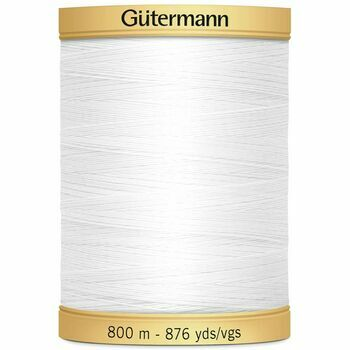 Gutermann Natural Cotton Thread - 800m (5709)