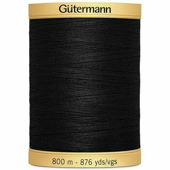 Gutermann Natural Cotton Thread - 800m (5201)