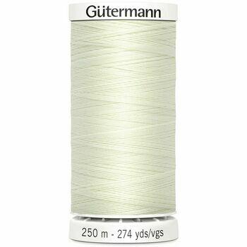 Gutermann White Sew-All Thread: 250m (1)