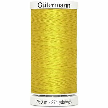 Gutermann Yellow Sew-All Thread: 250m (106)