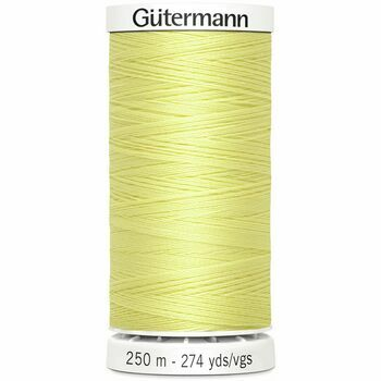 Gutermann Yellow Sew-All Thread: 250m (578)
