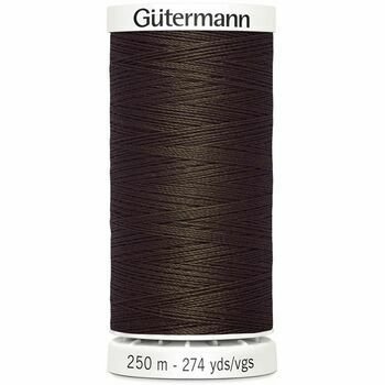 Gutermann Brown Sew-All Thread: 250m (694)