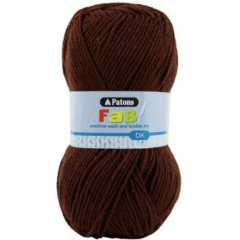 Patons Fab Double Knitting (100g) - Chocolate