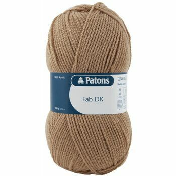 Patons Fab Double Knitting (100g) - Camel