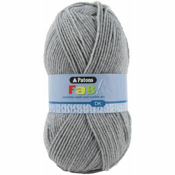 Patons Fab Double Knitting (100g) - Grey