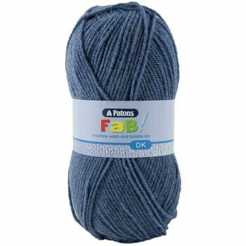 Patons Fab Double Knitting (100g) - Airforce