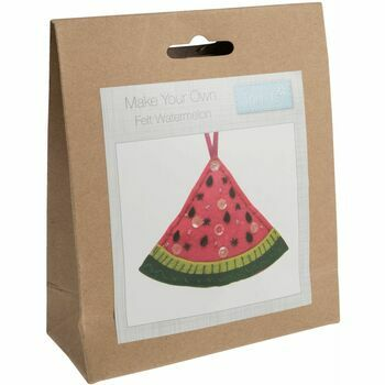Trimits Watermelon Felt Decoration Kit
