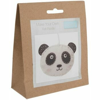 Trimits Felt Panda Decoration Kit