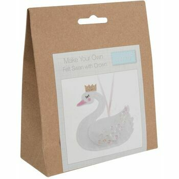 Trimits Swan with Crown Felt Decoration Kit