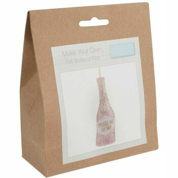 Trimits Bottle of Fizz Felt Decoration Kit