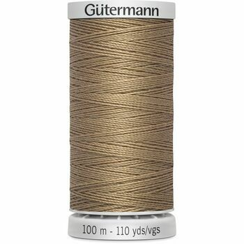 Gutermann Brown Extra Strong Upholstery Thread - 100m (139)
