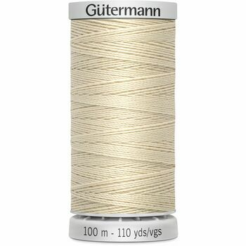 Gutermann Beige Upholstery Extra Strong Thread - 100m (169)