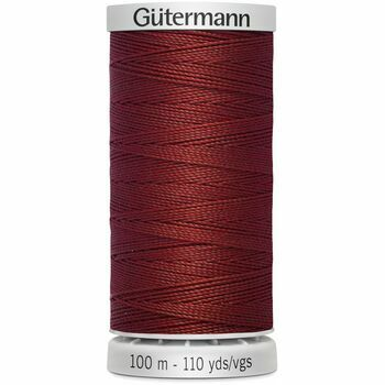 Gutermann Red Extra Strong Upholstery Thread - 100m (221)