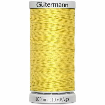 Gutermann Yellow Extra Strong Upholstery Thread - 100m (327)