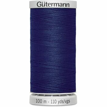 Gutermann Blue Extra Strong Upholstery Thread - 100m (339)