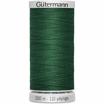 Gutermann Green Extra Strong Upholstery Thread - 100m (340)