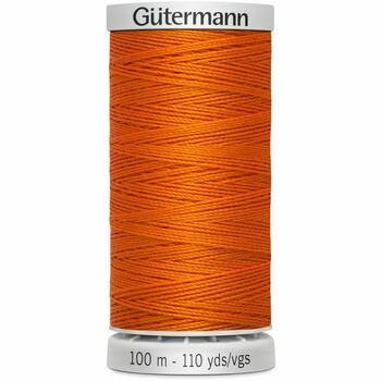 Gutermann Orange Extra Strong Upholstery Thread - 100m (351)