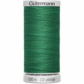 Gutermann Green Extra Strong Upholstery Thread - 100m (402)