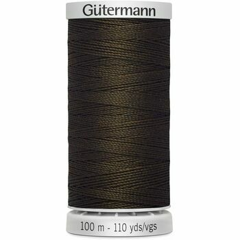 Gutermann Brown Extra Strong Upholstery Thread - 100m (406)