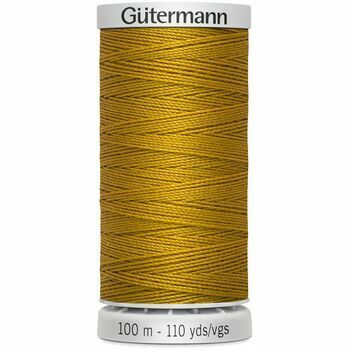 Gutermann Mustard Extra Strong Upholstery Thread - 100m (412)