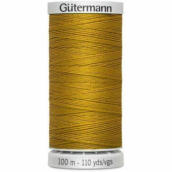Gutermann Mustard Extra Strong Upholstery Thread - 100m (412)