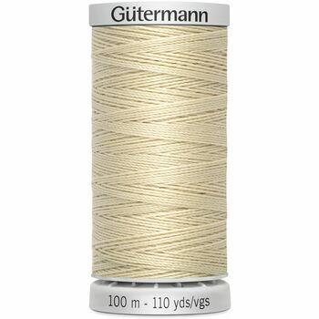 Gutermann Cream Extra Strong Upholstery Thread - 100m (414)