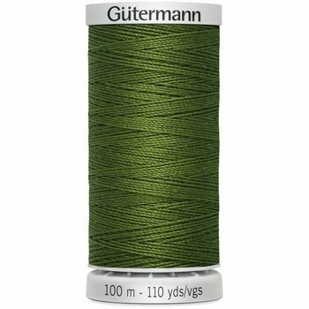 Gutermann Green Extra Strong Upholstery Thread - 100m (585)