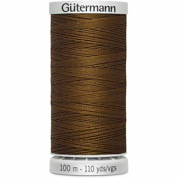 Gutermann Brown Upholstery Extra Strong Thread - 100m (650)