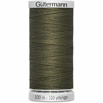 Gutermann Dark Green Upholstery Extra Strong Thread - 100m (676)