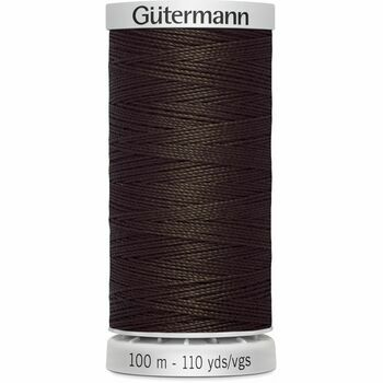 Gutermann Brown Extra Strong Upholstery Thread - 100m (696)