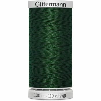 Gutermann Green Extra Strong Upholstery Thread - 100m (707)