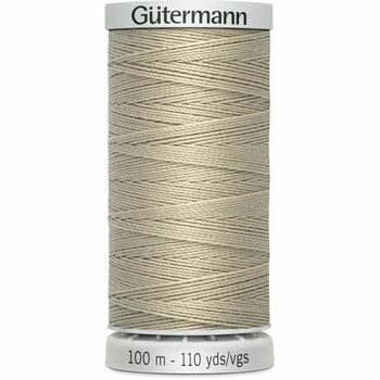 Gutermann Beige Extra Strong Upholstery Thread - 100m (722)