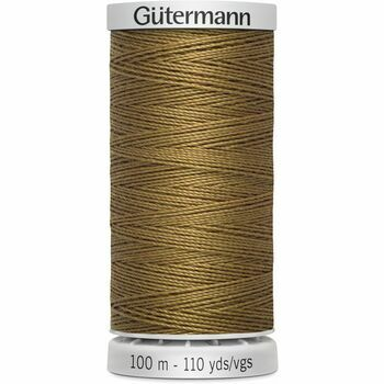 Gutermann Brown Extra Strong Upholstery Thread - 100m (887)