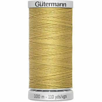 Gutermann Yellow Extra Strong Upholstery Thread - 100m (893)