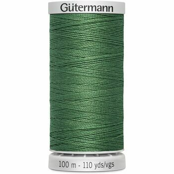Gutermann Green Extra Strong Upholstery Thread - 100m (931)