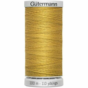 Gutermann Yellow Extra Strong Upholstery Thread - 100m (968)