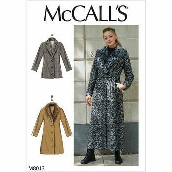 McCalls pattern M8013
