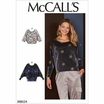 McCalls pattern M8024