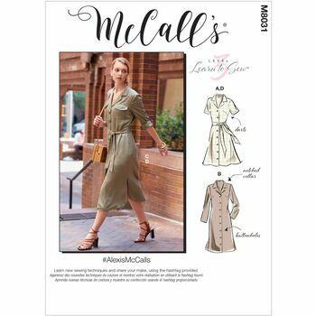 McCalls pattern M8031