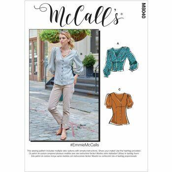 McCalls pattern M8040