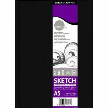 Daler Rowney Simply Sketch A5 Hardback