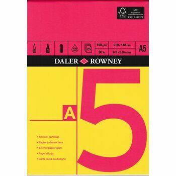 Daler Rowney Cartridge Paper A5 Pad