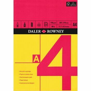 Daler Rowney Cartridge Paper A4 Pad