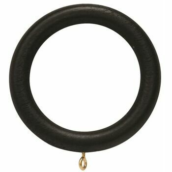 Hallis 35mm Woodline Black Wood Ring (Pack of 4)