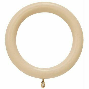Hallis 50mm Woodline Cream Wood Ring (Pack of 4)